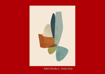 Paint Chunks 3-Jenny Gray