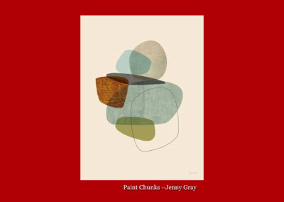 Paint Chunks-Jenny Gray