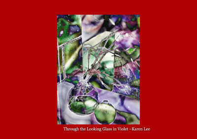 Throught the Looking Glass in Violet-Karen Lee